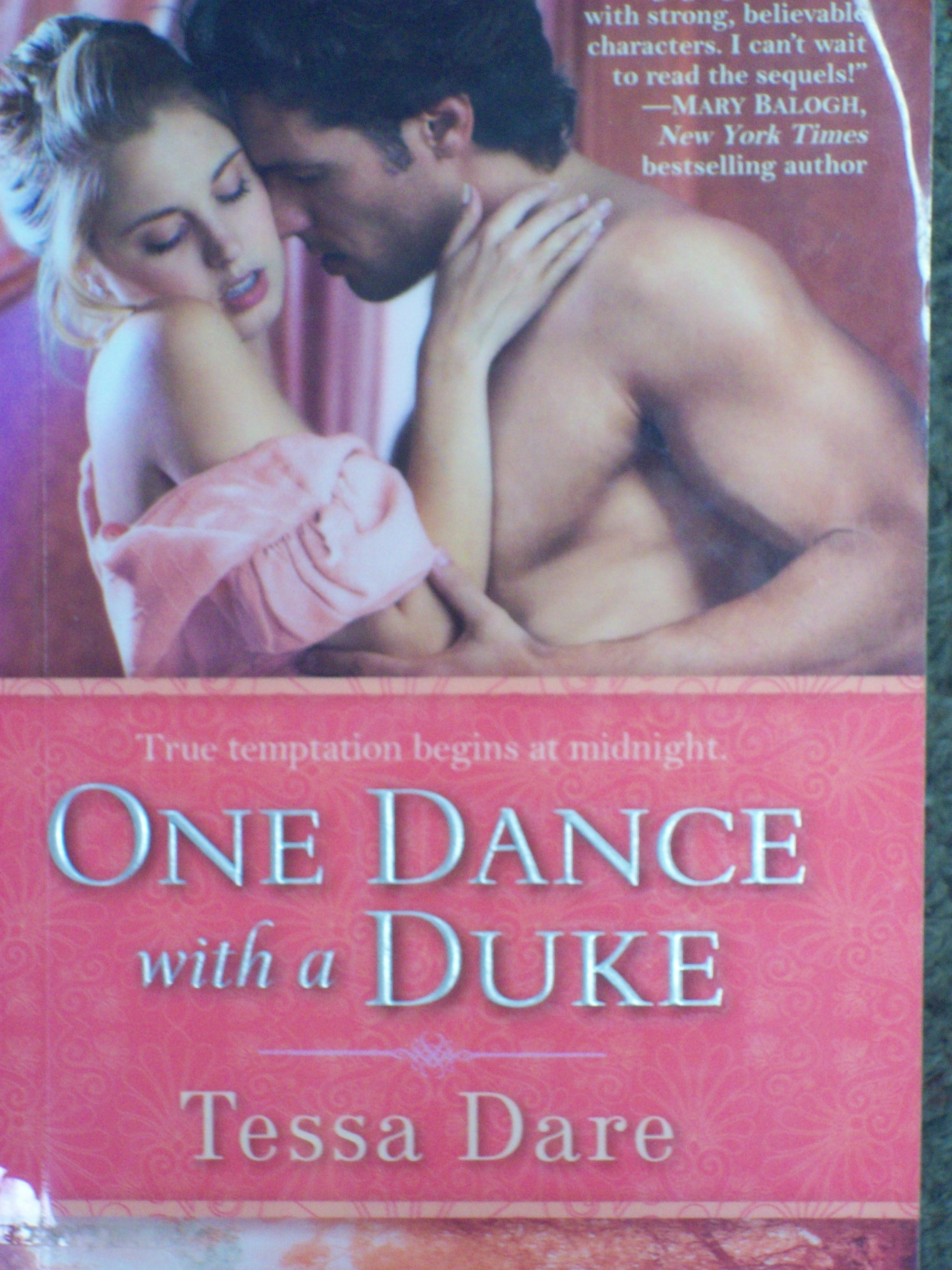 One Dance with a Duke Book Cover