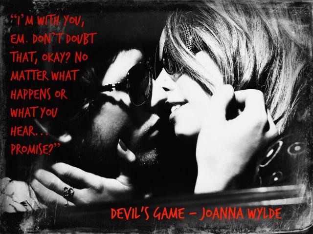 Devil's Game – Blog Tour