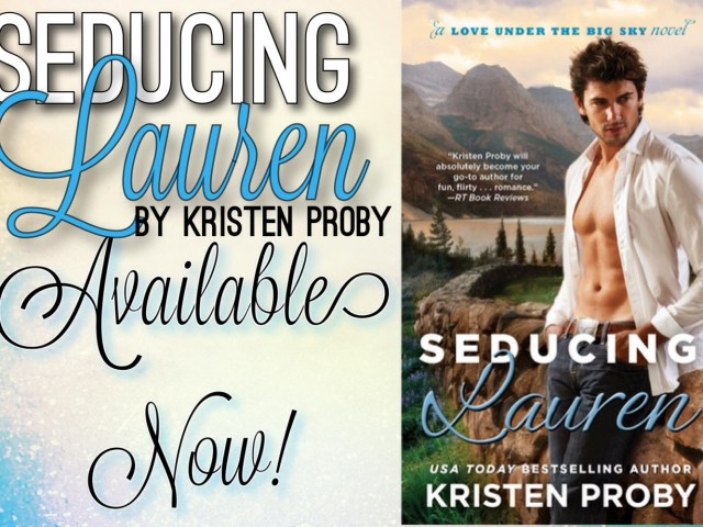 Seducing Lauren {Release Day Launch}