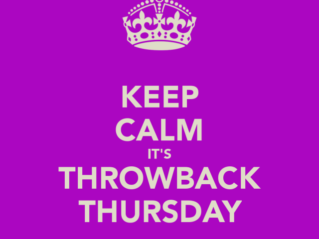 Throwback Thursday – Elizabeth Reyes