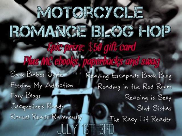 ★ MOTORCYCLE ROMANCE BLOG HOP ★ on Facebook