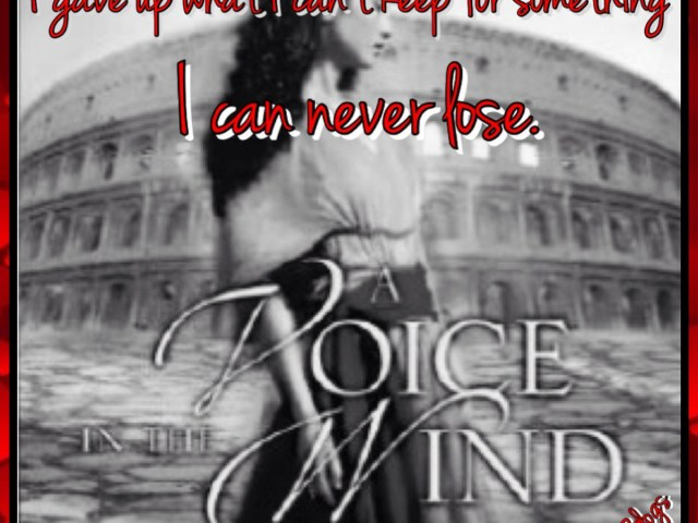 Review- A VOICE IN THE WIND by Francine Rivers
