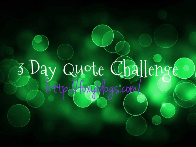 3 Day Quote Challenge –Day Two {Seduction & Snacks by @TaraSivec}