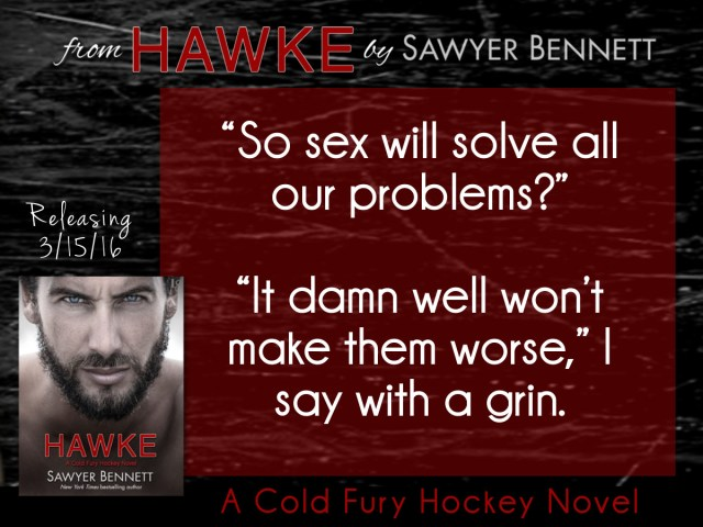 Happy Release Day ~ Hawke by @BennettBooks