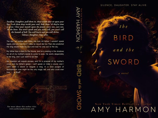 Gorgeous cover reveal: The Bird and The Sword by @aharmon_author #faveauthor