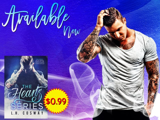 The Heart Series Boxset by @LHCosway 4 books + 1 novella for $.99