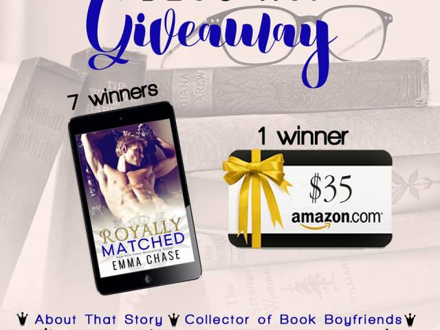 Happy Release Day~ROYALLY MATCHED by @EmmaChse #Giveaway @InkSlingerPR