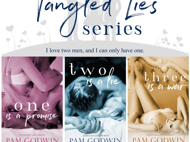Coming Summer 2017 ~ TANGLED LIES by @pamgodwinbooks