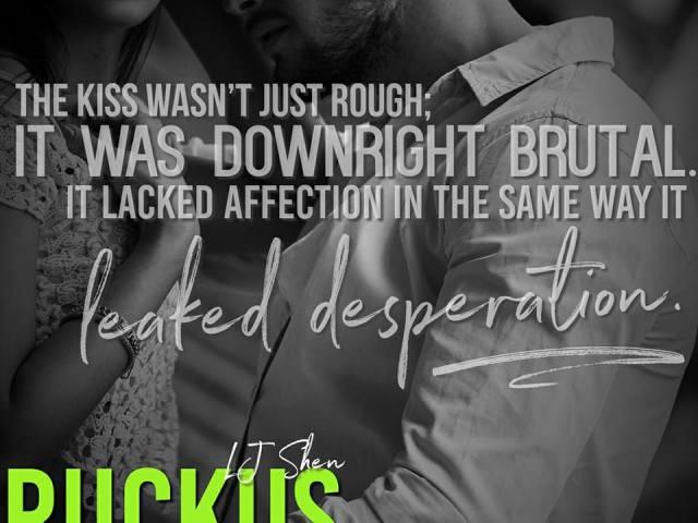 Happy Release ~ RUCKUS by @lj_shen | @EJBookPromos