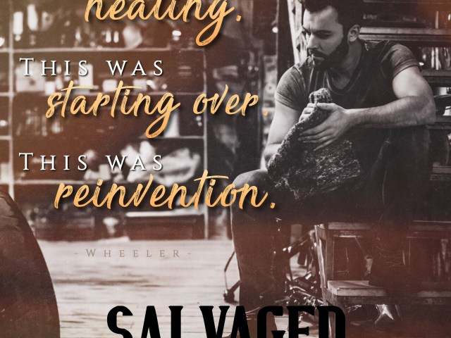 Salvaged by Jay Crownover | #excerpt #review #giveaway @InkSlingerPR