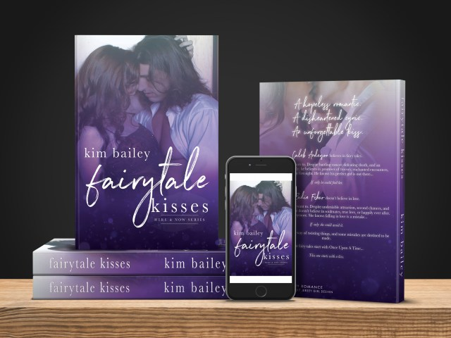 Cover reveal ~ Fairytale Kisses by @kimbwrites