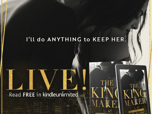 Happy Release for THE KING MAKER by @kennedyrwrites #Epic #Giveaway @jennw23