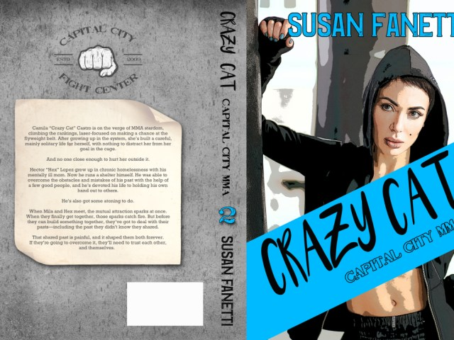 Happy release day:  CRAZY CAT by Susan Fanetti #5stars