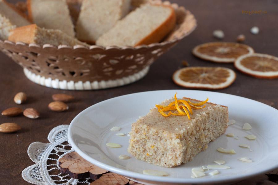 Миндальное пирожное «Финансье» с апельсином