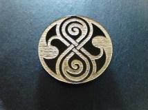 Doctor Who Rassilon Symbol Magnet