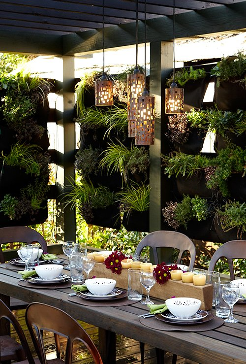 Most Amazing Living Wall and Vertical Garden Ideas | FOXY OXIE on Garden Patio Wall Ideas id=11433