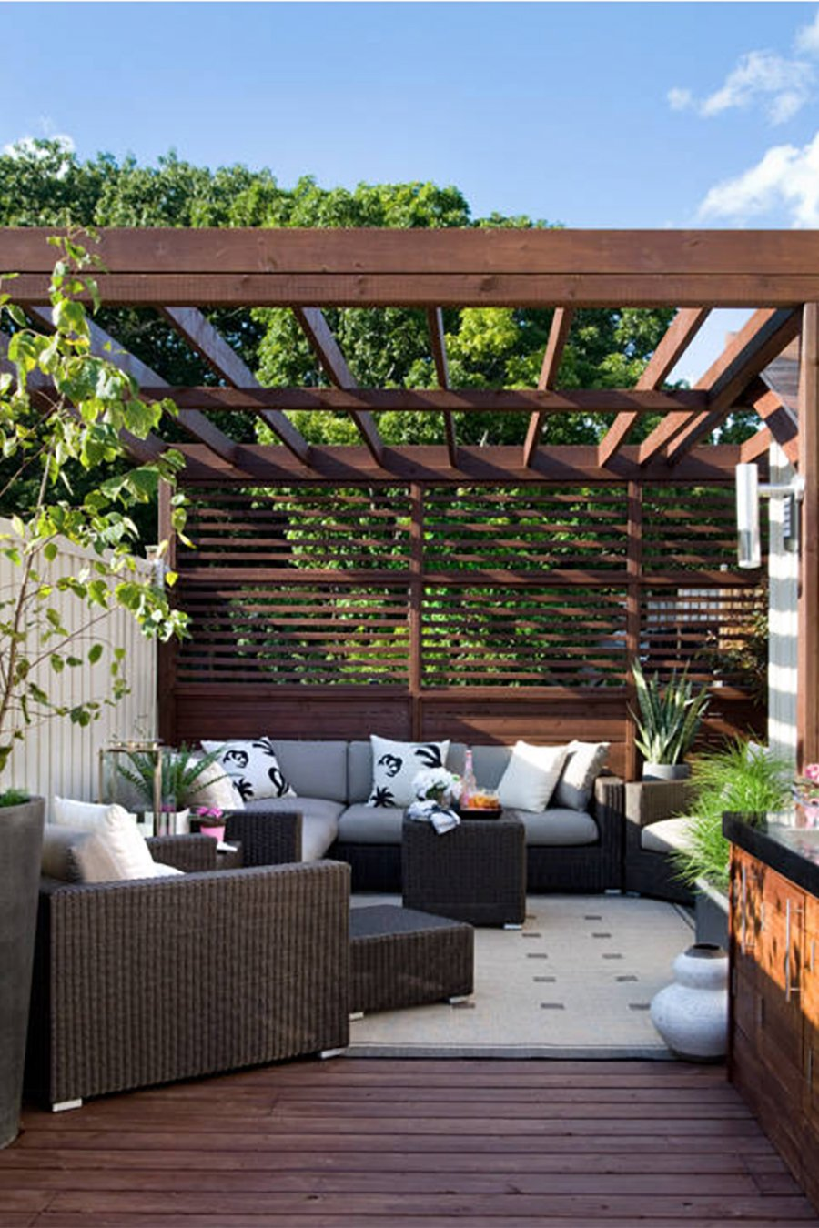 Outdoor Living: Dreamy Pergola Ideas for Our Deck on Patio With Deck Ideas id=66987