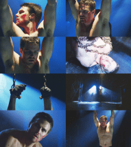 Stephen Amell Chained