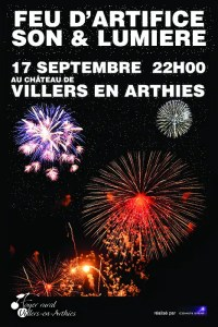 Affiche Feu d'artifice