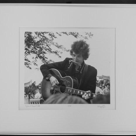 Bill_Woodley_Dylan at Newport 1965 framed