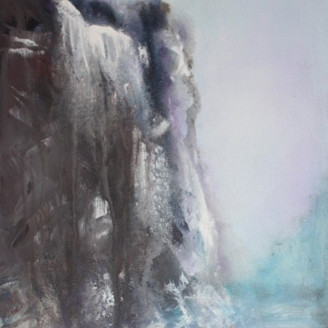 Sharon Collins_Mountains to Climb_Acrylic_ 2019