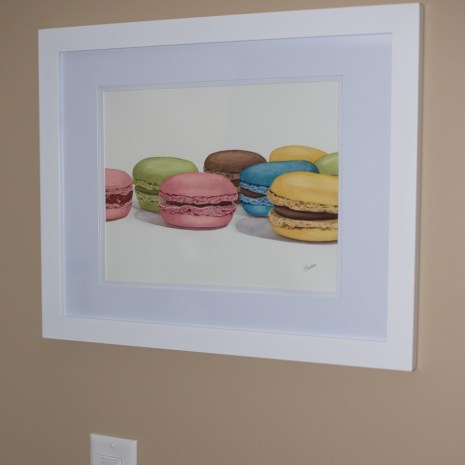 Isabelle_Jerome_Petits macarons_2020_watercolour_14x18_side view
