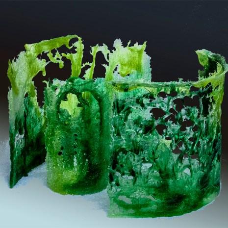 Eiko Emori Little Woods Glass (pâte de verre) 12x14x12 $900