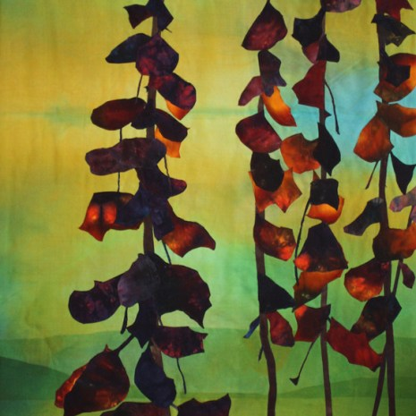 Sharon Collins_Indian Summer_Textile_48x28x2_$800