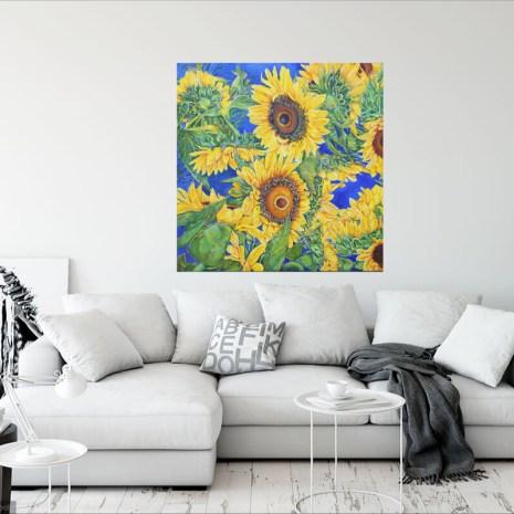 Christiane_Kingsley_Drinking Sunshine_ on wall