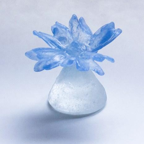 Eiko Emori Blue Daisies (a flower)