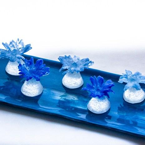 Eiko Emori Blue Daisies alternate view