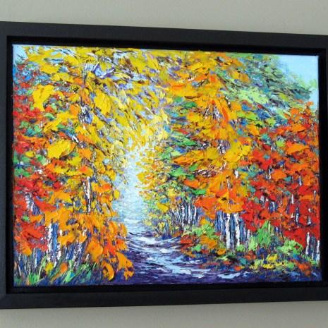 Margaret_Chwialkowska_Gatineau_in_Autumn__Framed