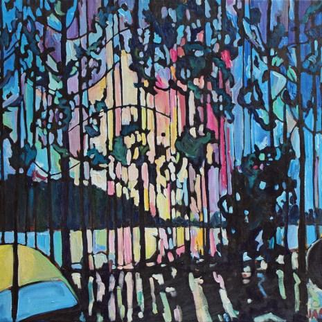 Jess_Fleury_Sunrise_Through_the_Trees_at_Lake_St._