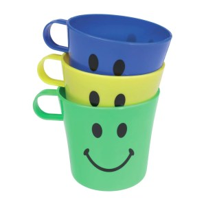 Chef Aid Smiley Face Cups