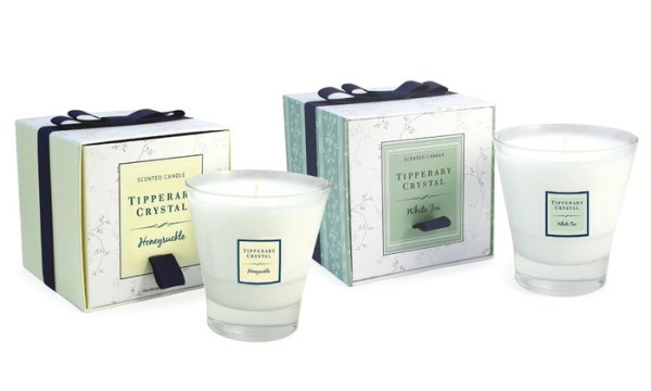 Tipperary Crystal Candle Filled Tumblers