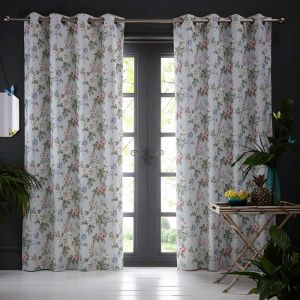 Bailey Mineral Eyelet Curtains