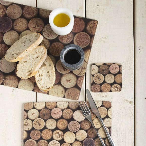 Creative Tops Cork Set Of 6 Placemats