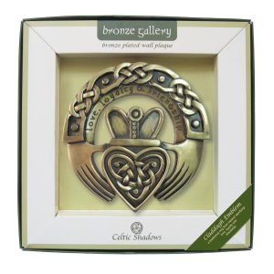 Royal Tara Claddagh Ring Emblem Plaque