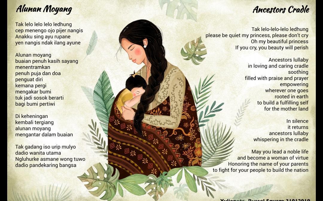 PUISI ALUNAN MOYANG DI THE INTERNATIONAL MOTHER LANGUAGE DAY 2019