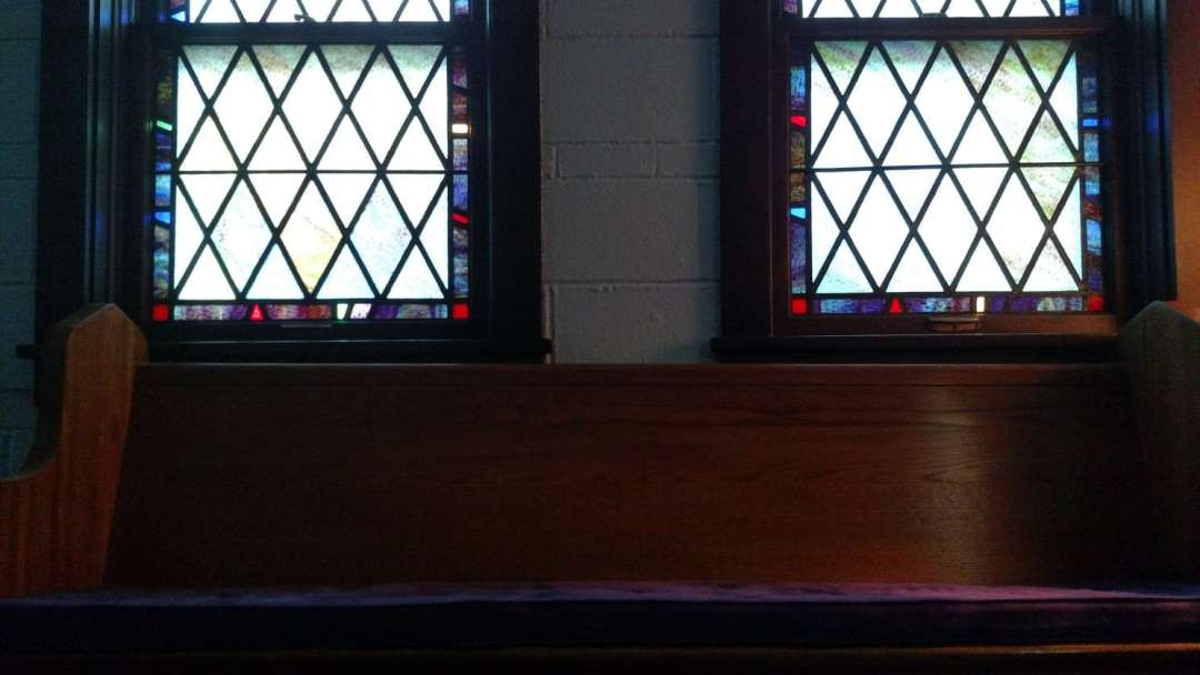 LC pew with windows