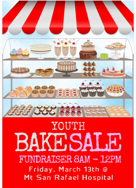 Hosp Bake Sale