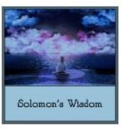 Solomon's Wisdom - Oct. 28, 2018