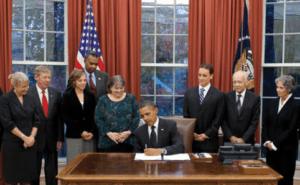 Obama signing KP Act