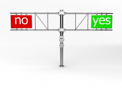 saying yes and saying no paths
