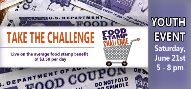 Food Stamp Challenge  GRAPHIC