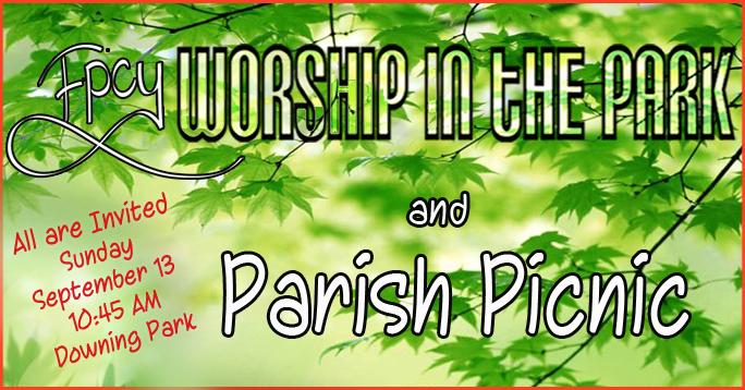 Parish Picnic 2015 Post