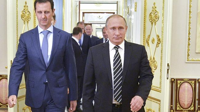 Image result for photo of putin and assad