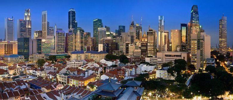 Singapour « banc d'essai » de la ville digitale