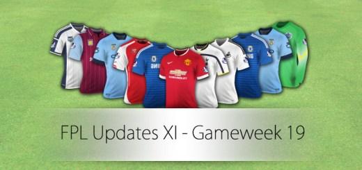 FPL Updates XI Gameweek 19