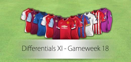 Differentials XI Gameweek 18